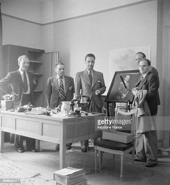 Siège de la Gestapo à Vichy France circa 1940