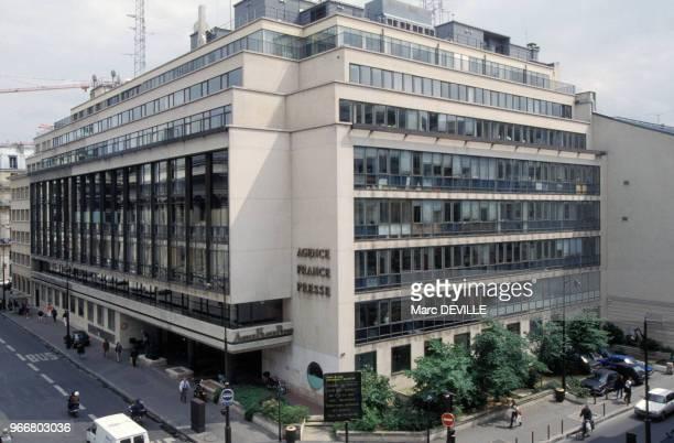 Siège de l'Agence France-Presse, AFP, à Paris le 28 mai 1993, France.