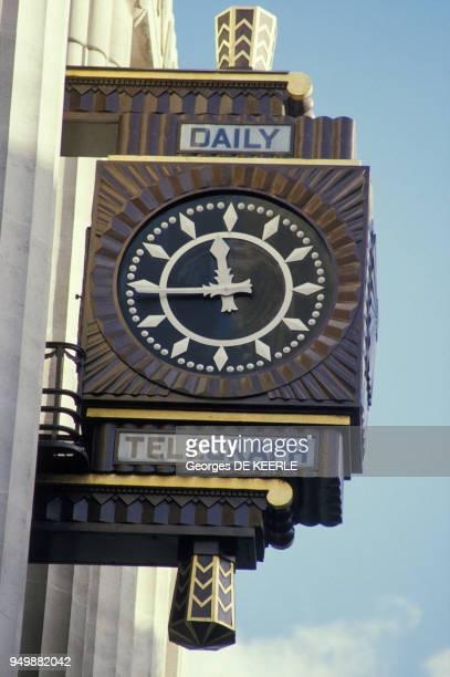 Siège du journal 'Daily Telegraph' à Fleet Street en janvier 1986 à Londres RoyaumeUni