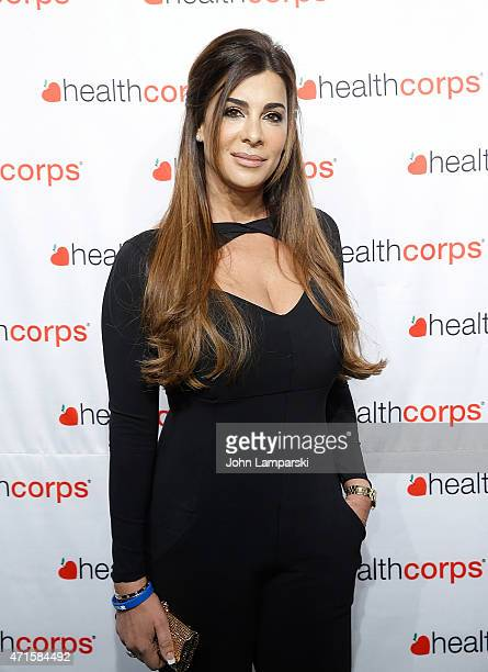 Siggy Flicker attends 9th Annual HealthCorps' Gala at Cipriani Wall Street on April 29 2015 in New York City
