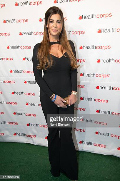 Siggy Flicker attends the 9th Annual HealthCorps' Gala at Cipriani Wall Street on April 29 2015 in New York City