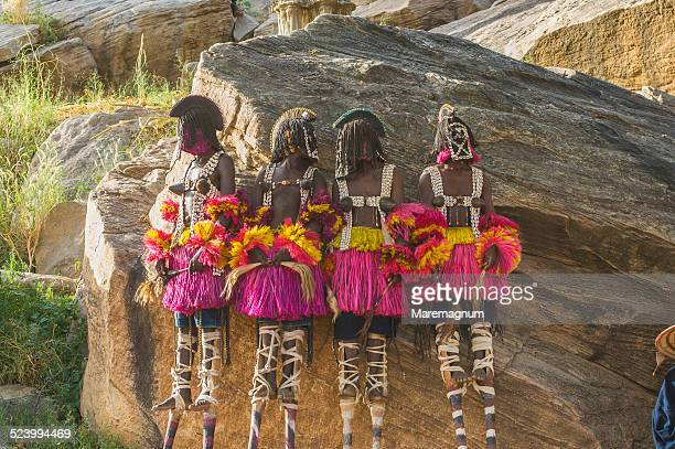 'sighi' Dogon dance at Tirelli village