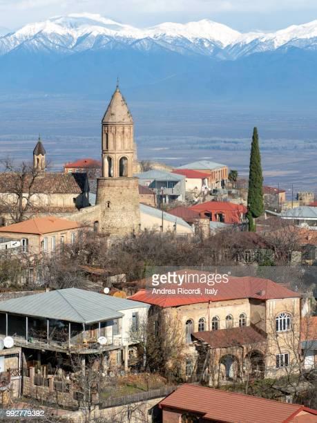 Sighnaghi old town, Caucasus scenery, Georgia