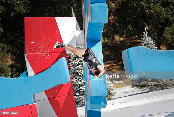 WIPEOUT A Sight for Sore Ice Host John Henson says Be sure to watch Winter 'Wipeout' same cold conditions new hot cohost The weather outside is...