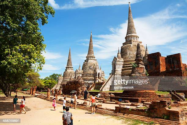 sight seeing in grand palace - ayuthaya province stock pictures, royalty-free photos & images