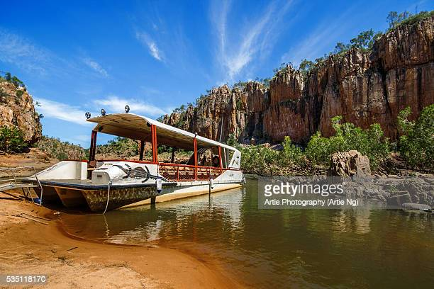 Sightseeing Boat at Katherine Gorge, Nitmiluk National Park, Northern Territory, Australia