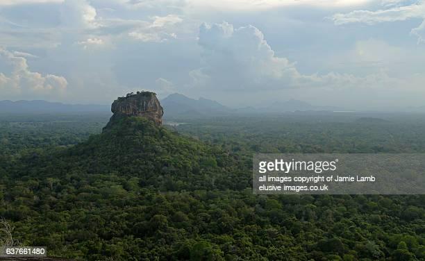 Sigiriya Lion Rock Fortress from Pidurangala rock