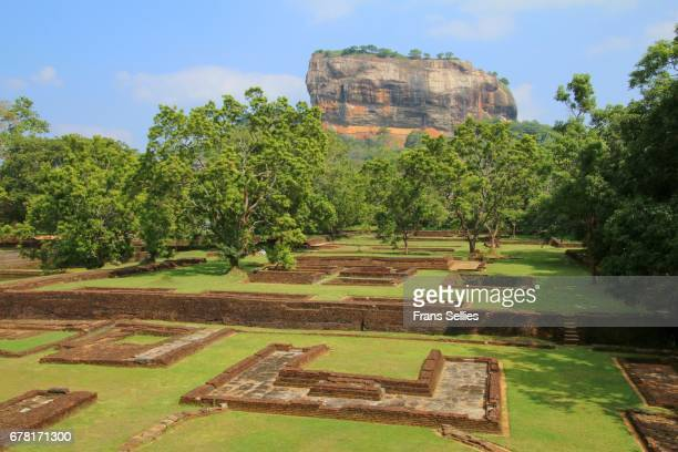 Sigiriya Rock and ancient ruins, Sri Lanka (Unesco world heritage site)
