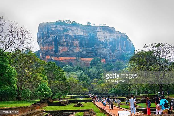 Sigiriya rock, Sir Lanka