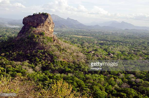 Sigiriya rock. Sri Lanka