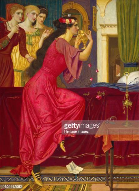 Sigismonda Drinking The Poison, c1897. Artist Joseph Edward Southall.