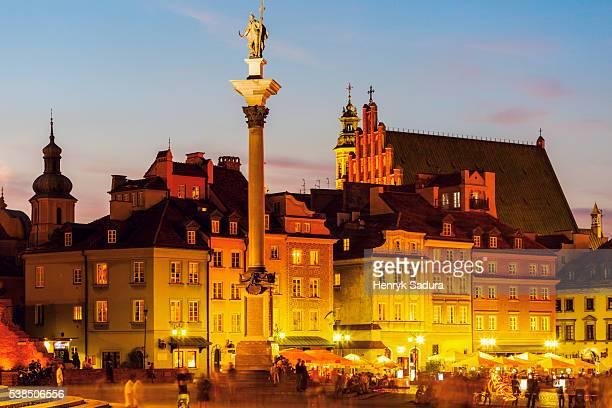Sigismund's Column on Castle Square in Warsaw