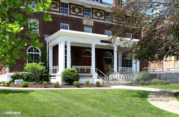 Sigma Chi Fraternity - Theta Theta Chapter house at the University Of Michigan in Ann Arbor, Michigan on July 30, 2019.