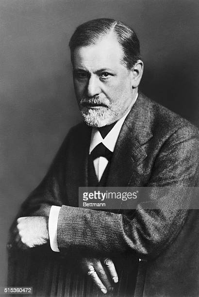 Sigmund Freud Austrian neurologist and founder of psychoanalysis Undated photograph