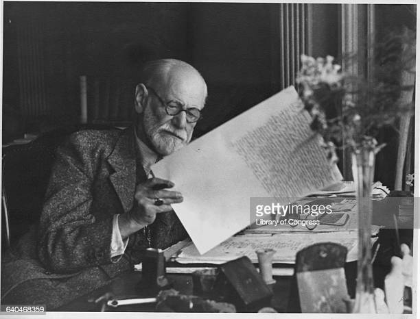 Sigmund Freud reviews and edits his manuscript for Moses and Monotheism a book about the historical Moses and the monotheistic tradition The book...