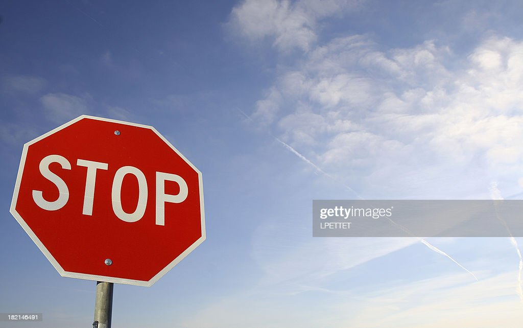 STOP -sign 2 : Stock Photo