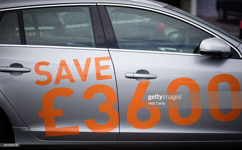 UK Car Sales Up 8.6 Per Cent Year on Year Photos and Images | Getty ...