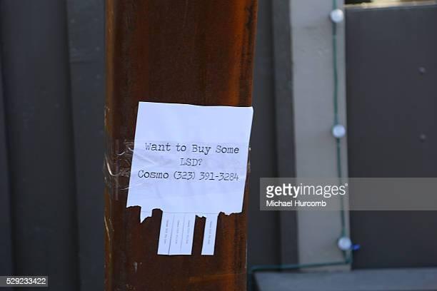 A sign advertising LSD for sale in Park City Utah