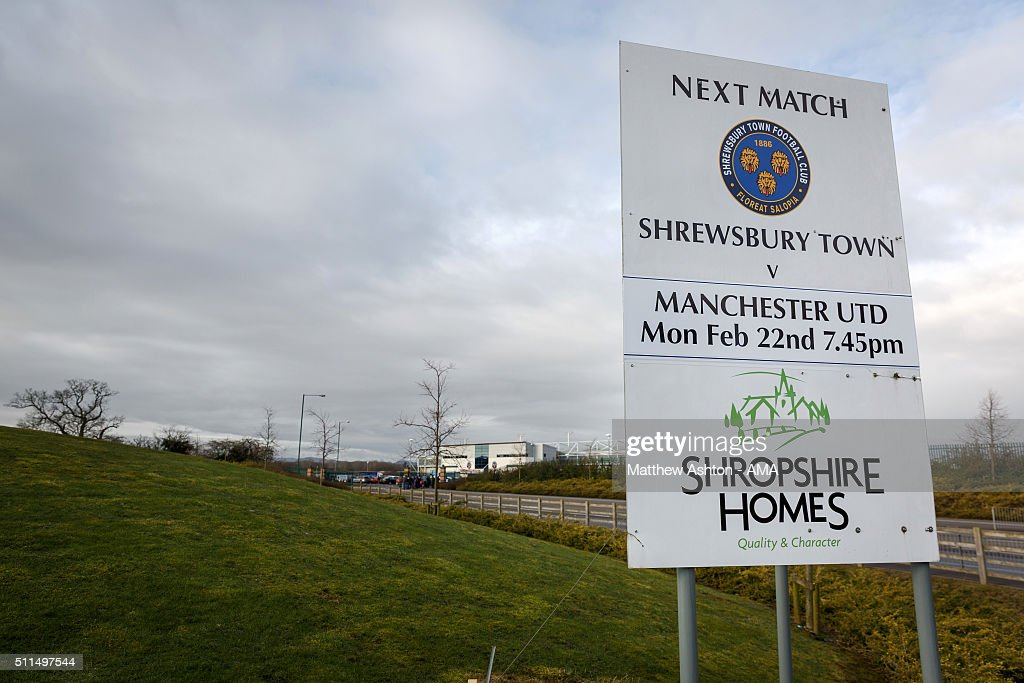 Shrewsbury Town v Manchester United - Emirates FA Cup Previews : News Photo