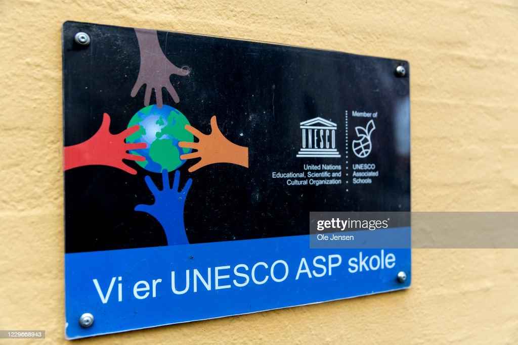 Crown Princess Mary Visit A UNESCO  Sustainable Development Goals School : News Photo