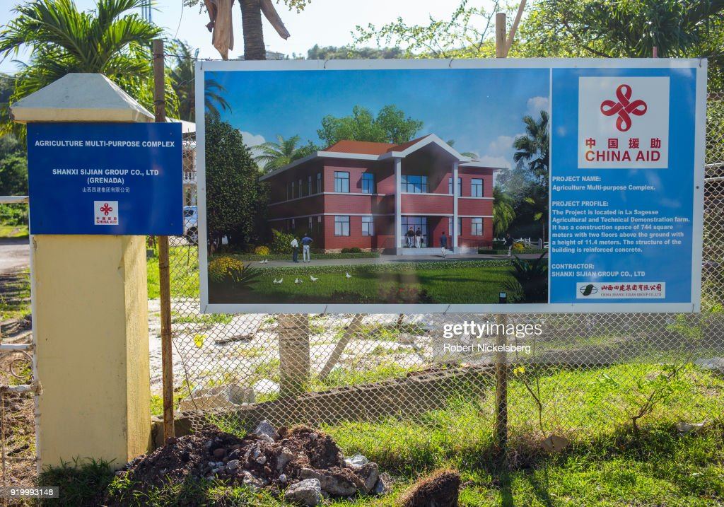 Chinese Government Aid In Grenada : News Photo