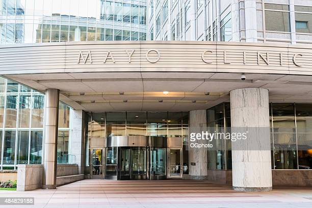 xxxl: sign at gonda building of mayo clinic - ogphoto stock photos and pictures