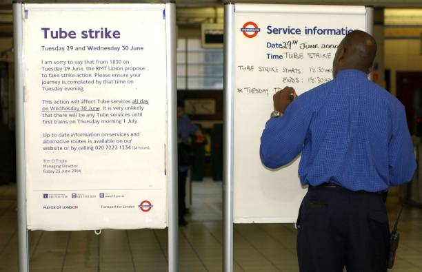 24hr London Tube Strike Pictures Getty Images