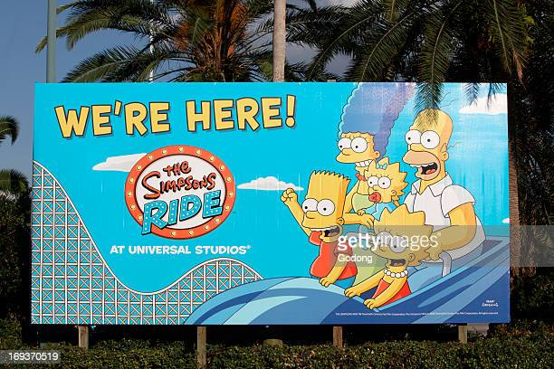 Sign at the entrance of Universal Orlando United States