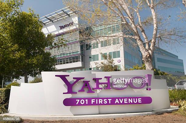 Sign at Yahoo Headquarters