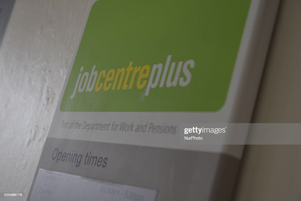 Jobcentre Plus - An Economic and Social Safety Net : News Photo