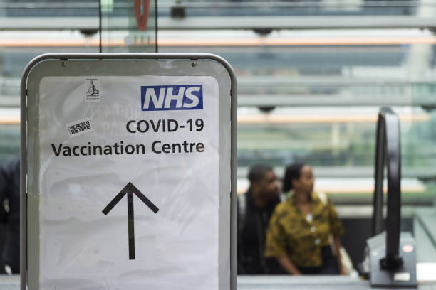 GBR: Mass Vaccination at London Stadium as U.K. Vaccinates Over 18 Year Olds