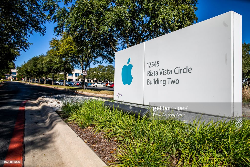 Apple To Open Large Office In Austin, Texas : News Photo