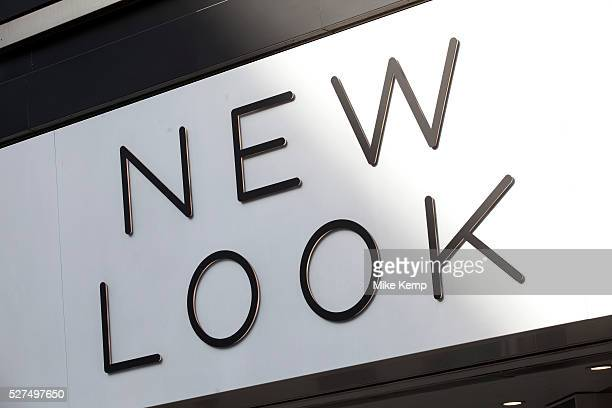 Sign for clothing shop New Look