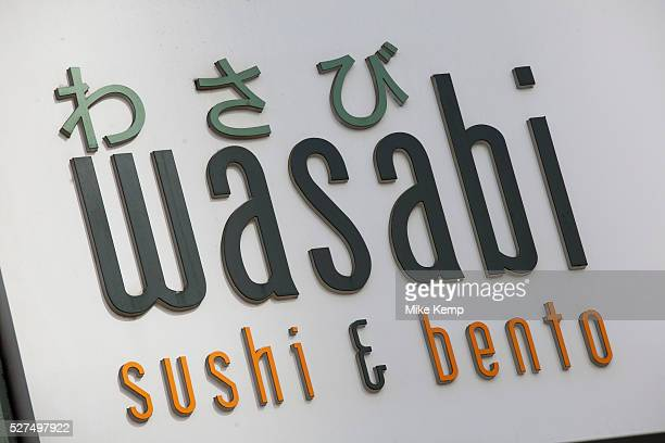 Sign for food chain Wasabi