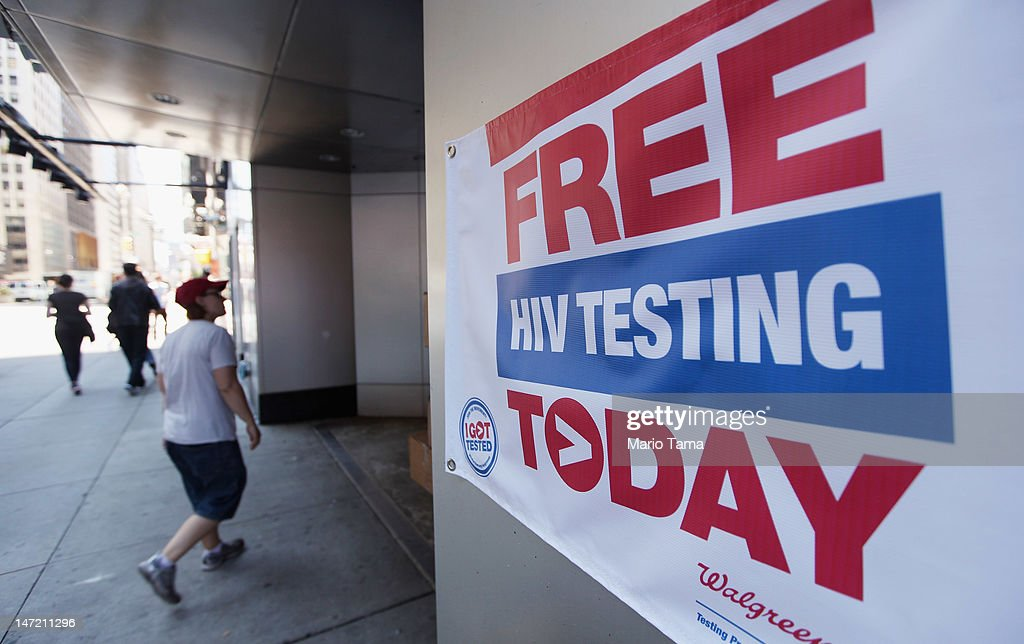 Center For Disease Control Launches Program For AIDS Testing At Drugstores : News Photo