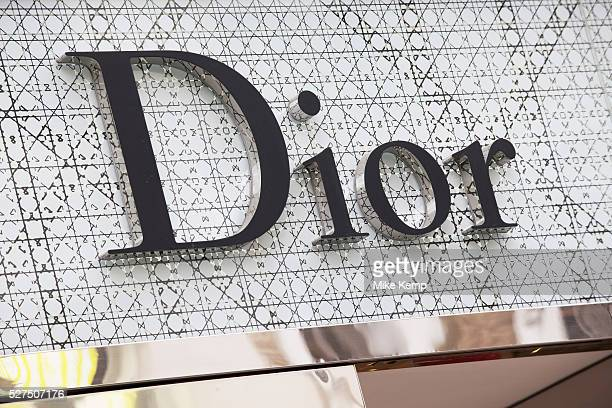Sign for high end fashion and exclusive brand Dior