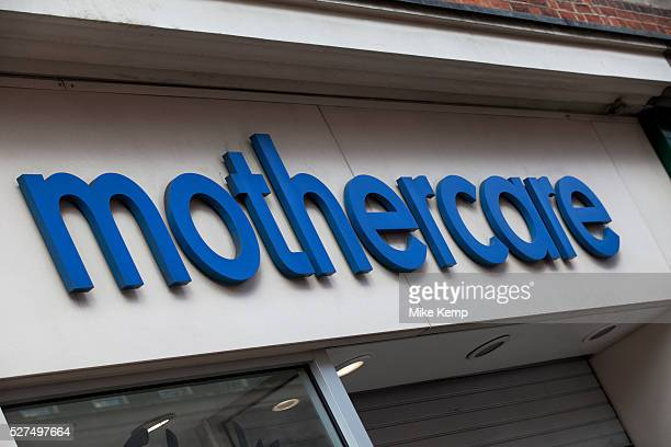 Sign for maternity and children's clothes retailer Mothercare