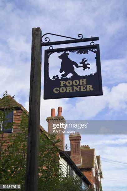 Sign for Pooh Corner Gift Shop