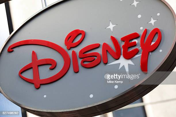 Sign for the Disney store