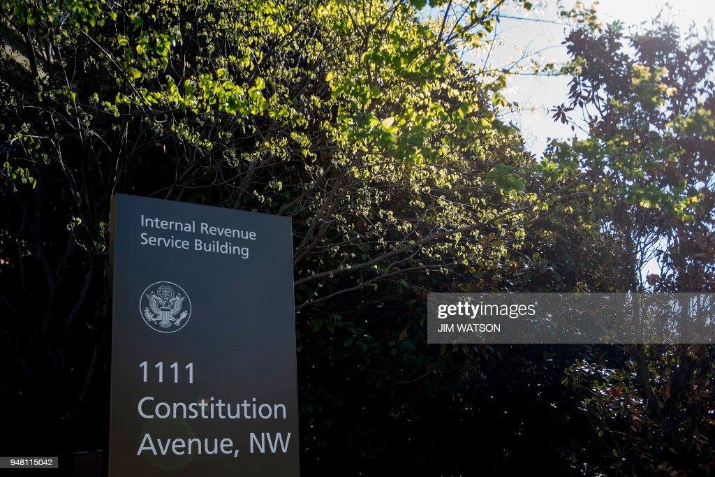 US-POLITICS-TAXES-IRS : News Photo