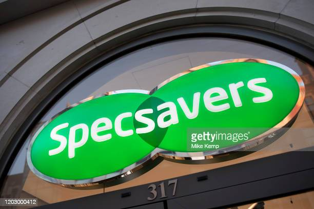 Sign for the optical brand Specsavers on 21st January 2020 in London England United Kingdom Specsavers Optical Group Ltd is a British multinational...