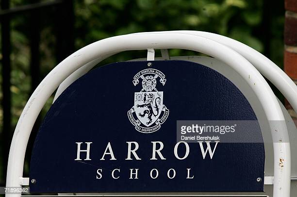 A sign from Harrow school on September 15 2006 in London England Police were called last night to an address in Peterborough Rd near Harrow School...