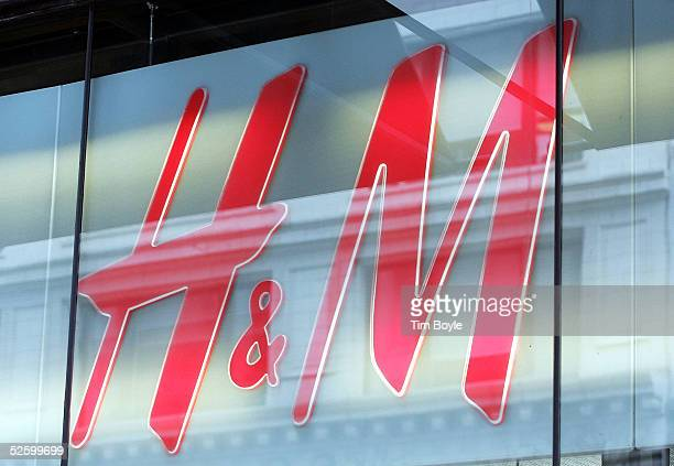 M sign hangs in a window April 7 2005 in Chicago Illinois Sweden's Hennes Mauritz AB Europe's largest fashion retailer has said its firstquarter...