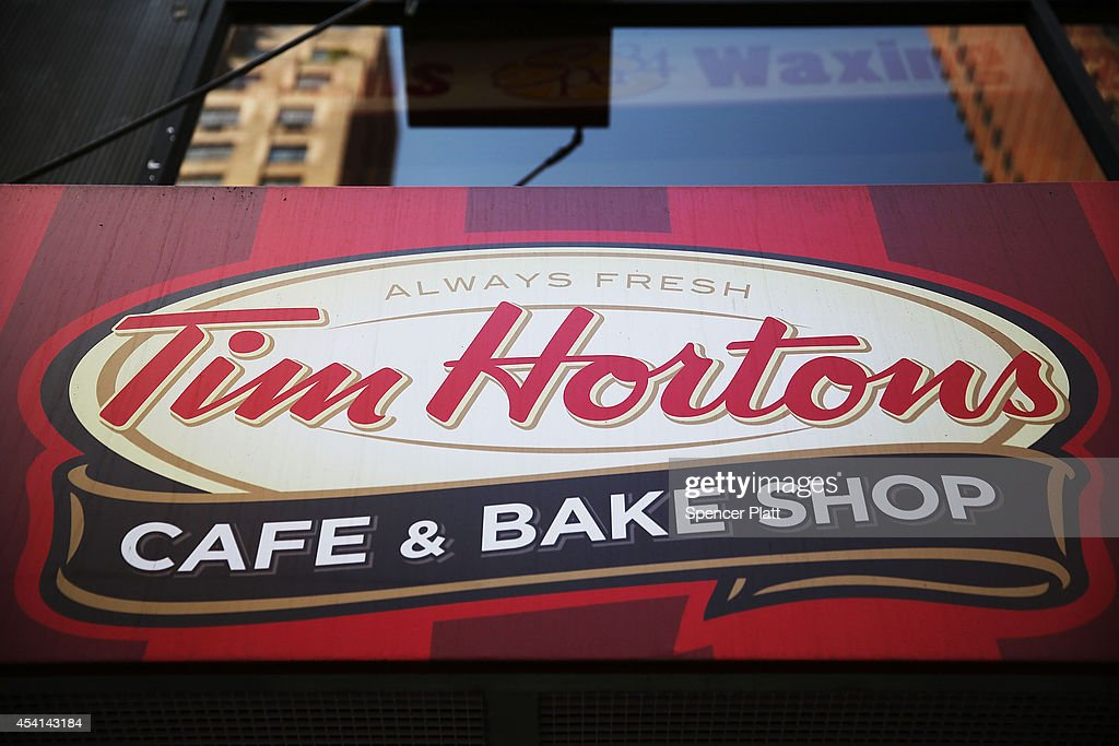 Burger King In Talks To Acquire Canadian Chain Tim Horton's : News Photo