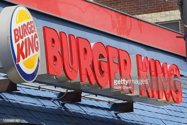 A sign hangs outside a Burger King restaurant on August 24 2010 in Chicago Illinois Burger King Holdings Inc the No 2 US burger chain reported its...