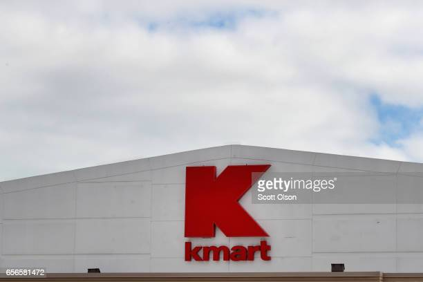 A sign hangs outside of a Kmart store on March 22 2017 in Chicago Illinois Sears Holdings the parent of Kmart and Sears Roebuck Co said there is...