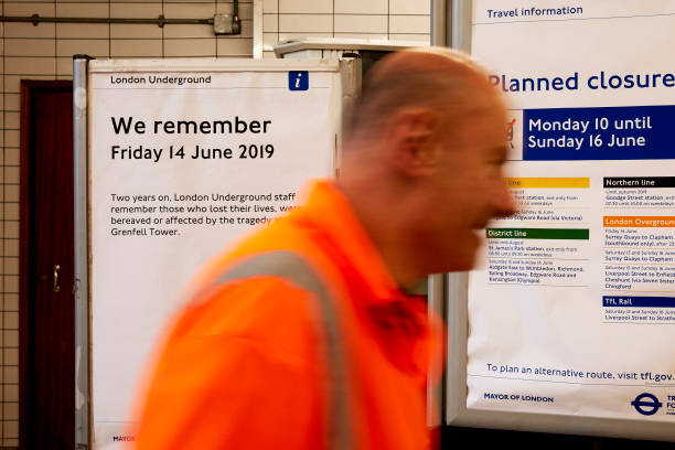 GBR: Community Remembers Victims Of The Grenfell Tower Fire On The 2nd Anniversary