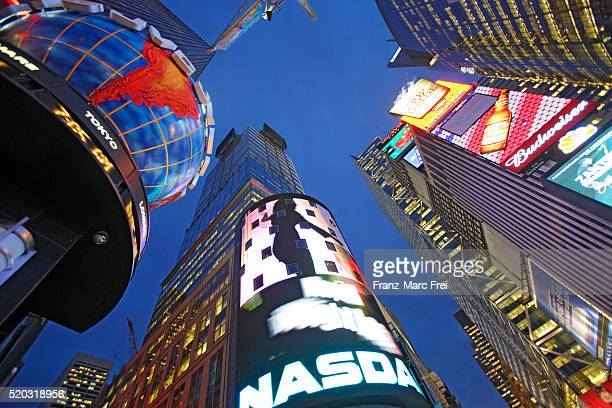 NASDAQ Sign in Times Square