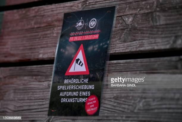 AUT: RB Salzburg v Eintracht Frankfurt - UEFA Europa League Round of 32: Second Leg
