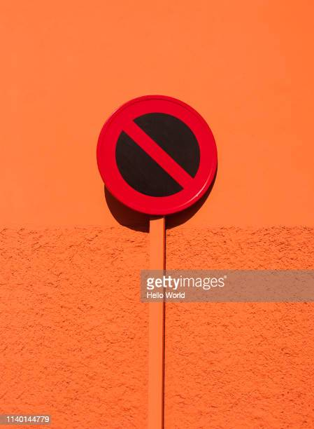 sign indicating no entry or not allowed - warning sign stock pictures, royalty-free photos & images